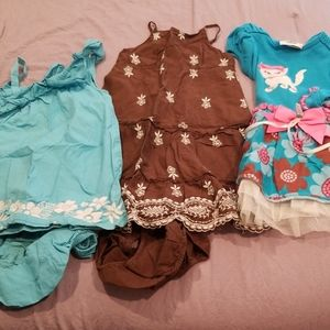 2t dresses from gymboree, gap and rare editions